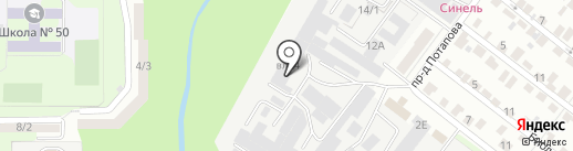 Оптовый склад-магазин на карте Липецка