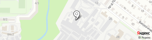 Краснодеревщик на карте Липецка