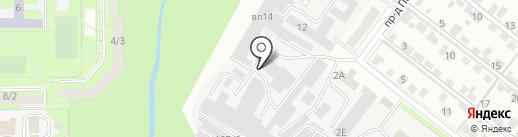 Компания на карте Липецка