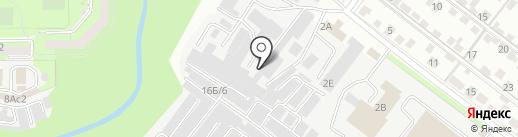 АПК на карте Липецка