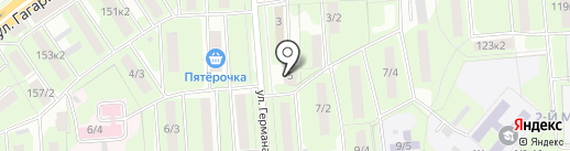 Липецкэлектромонтажсервис на карте Липецка
