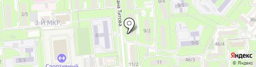 Психологический кабинет Татаркиной Н.И. на карте Липецка