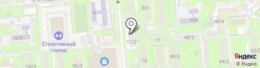 Молочная кухня на карте Липецка