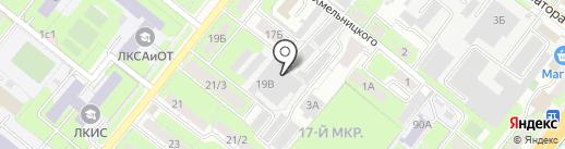 Липецкая областная коммунальная компания на карте Липецка