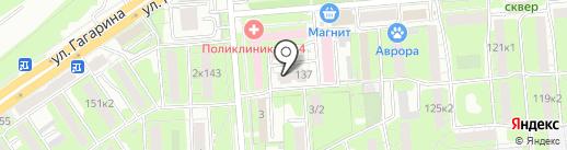 АБК на карте Липецка