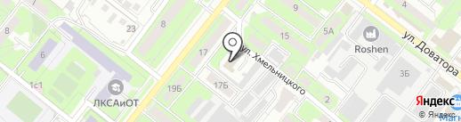 Предприятие по ремонту медицинской техники на карте Липецка