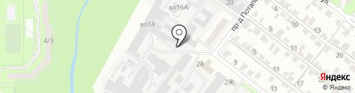 Ковка-универсал на карте Липецка