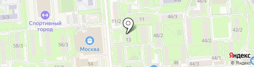 Адвокатский кабинет Гритчина И.А. на карте Липецка
