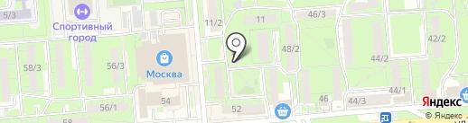 Адвокатский кабинет Долгова В.Е. на карте Липецка