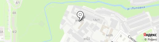Тесла на карте Липецка