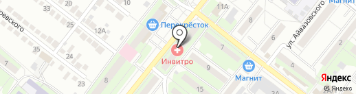 Ритуальный салон-магазин на карте Липецка