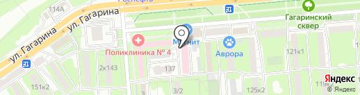 Липецкая областная станция скорой медицинской помощи и медицины катастроф на карте Липецка