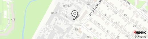 ФлораГрад на карте Липецка