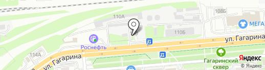 Липецкэнерго на карте Липецка