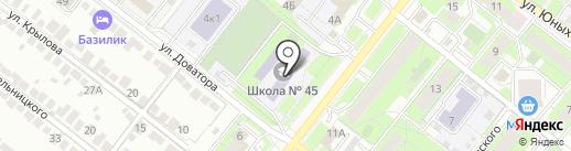 Пируэт на карте Липецка