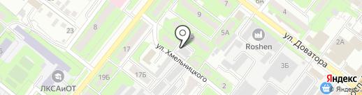 Липецкая управляющая компания на карте Липецка