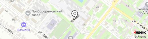 Ренозапчасть на карте Липецка
