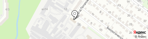 Подъем-сервис на карте Липецка