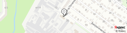 Зеленая-лавка.рф на карте Липецка
