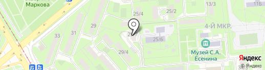 ФОРУС Банк на карте Липецка