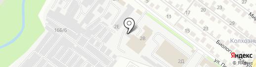 КИТ МОТОРС на карте Липецка