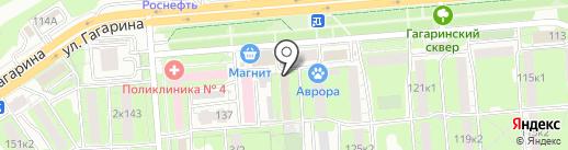 Почтовое отделение №25 на карте Липецка