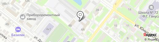 Daewoo, Chevrolet на карте Липецка