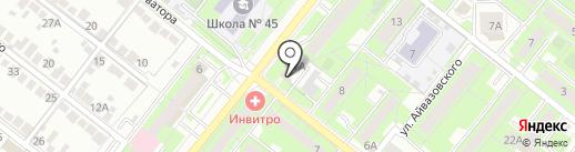 СТК-Л на карте Липецка