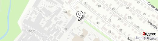 Промэлектро на карте Липецка