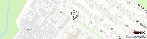 Теларус на карте Липецка