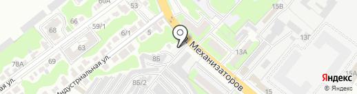 Автостекло на карте Липецка