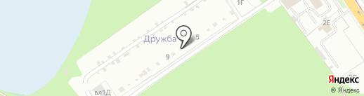 Дружба на карте Липецка