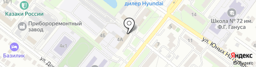 Магазин автозапчастей для Daewoo, Chevrolet на карте Липецка
