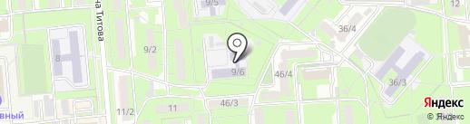Детский сад №89 на карте Липецка