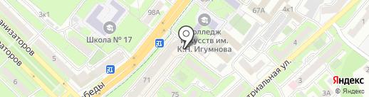 СУ-19 на карте Липецка