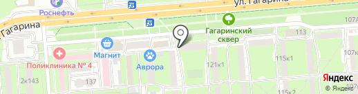 Социалочка.рф на карте Липецка