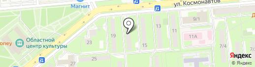 Forest Camp на карте Липецка