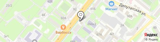 Oilmart48 на карте Липецка
