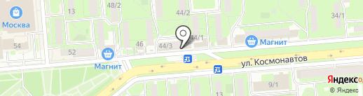 Магазин текстиля для дома на карте Липецка