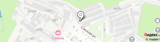 Блеск на карте Липецка