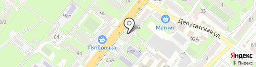Умка на карте Липецка