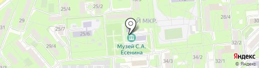 Музей С.А. Есенина на карте Липецка