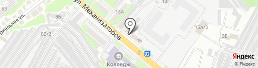 Адвокатский кабинет Болдыревой Ю.Г. на карте Липецка