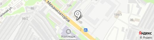Электромонтажстрой на карте Липецка