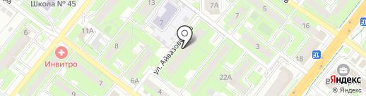 Персона-Л на карте Липецка