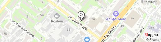 Гарант Т на карте Липецка