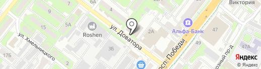 Психологический кабинет на карте Липецка