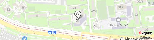 Детская художественная школа №2 им. В.И. Сурикова на карте Липецка