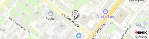 Антарес48 на карте Липецка