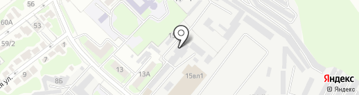 Стандартэлектро на карте Липецка